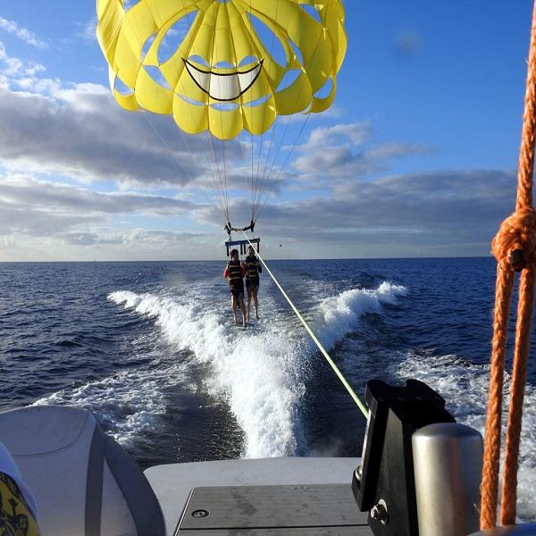[하와이 현지투어] 돌핀 패러세일링(250m) 이미지