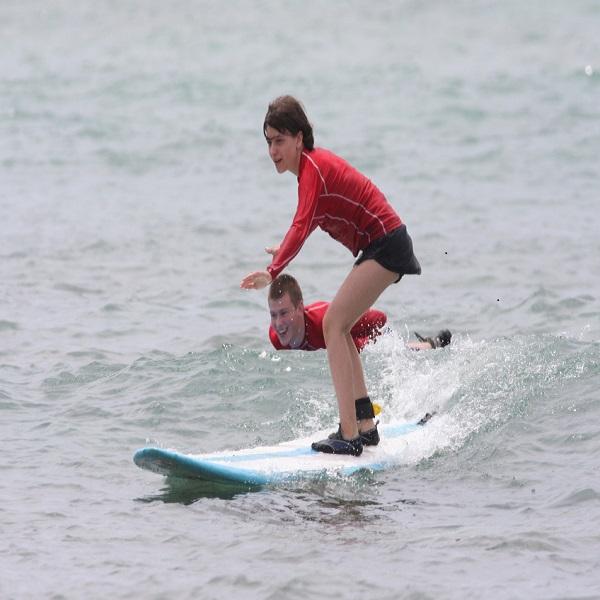 [하와이 현지투어] 한스 히드만 서핑 레슨 이미지