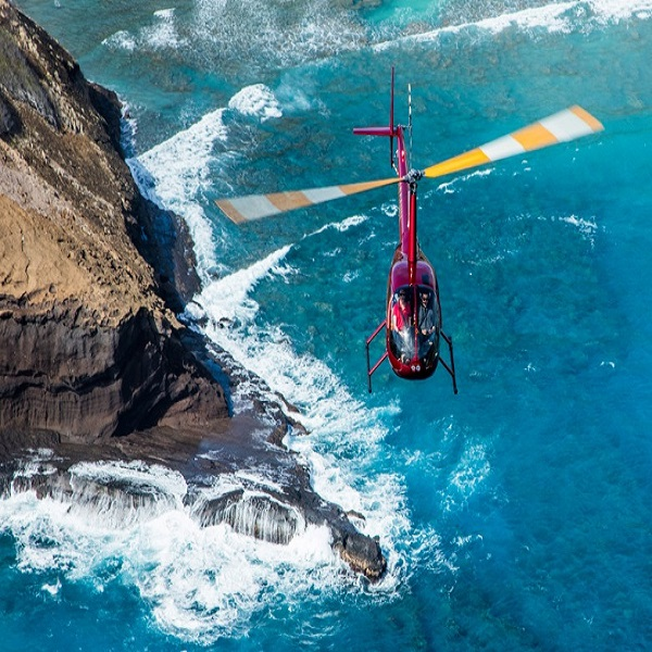 [하와이 현지투어] 호놀룰루 야경 헬기투어(30분) 이미지