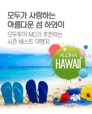 모두가 사랑하는 아름다운 섬 하와이