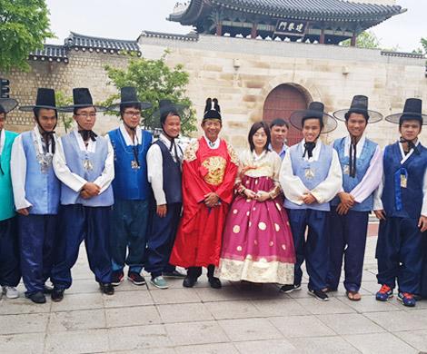 전통문화체험(한복입기+김밥만들기) 이미지