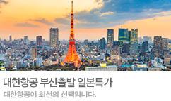 부산 일본 대한항공 항공권