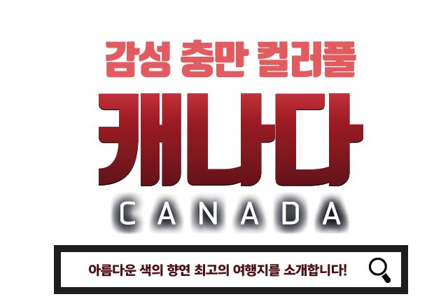 감성 충만 컬러풀 캐나다