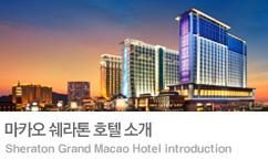 2018 마카오 쉐라톤 호텔 봄 프로모션
