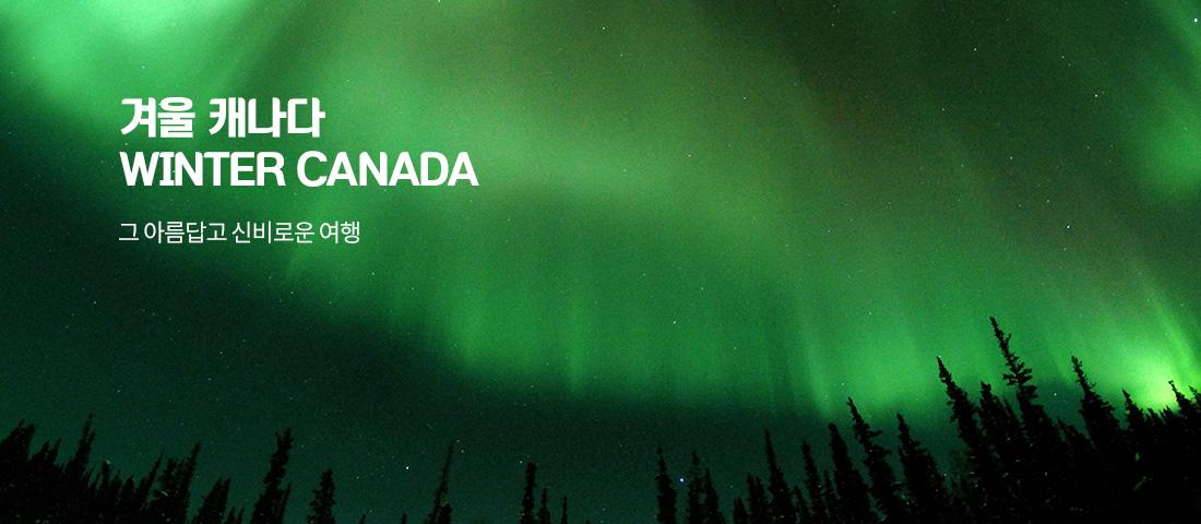 겨울<br/>캐나다