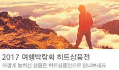2017 여행박람회 히트상품전