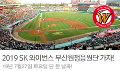 SK와이번스 원정응원대 가즈아