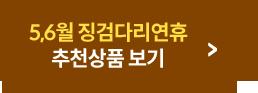 5,6월 징검다리 연휴 추천상품 보기