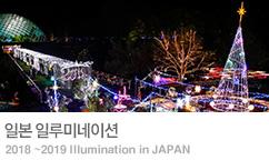일본 겨울 일루미네이션 기획전